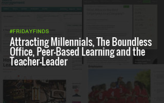 吸引千禧一代、无边无际的办公室、同侪学习和教师领袖