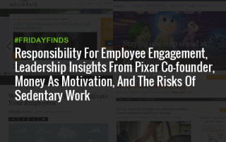 员工敬业度的责任,皮克斯联合创始人的领my188bet导力见解,金钱作为动力,以及久坐工作的风险