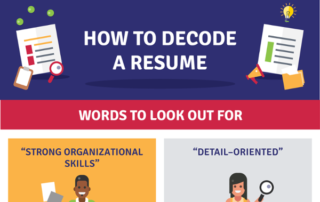 [Infographic] How to Decode a Resume
