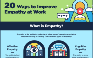 [Infographic] 20 Ways to Improve Empathy and Build Better Relationships at Work
