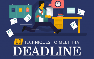 [Infographic] 10 Tips To Stop You From Missing That Deadline
