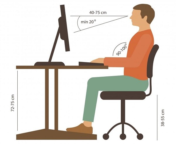 6 Good Posture Tips to Keep you Healthy in your Sedentary Job
