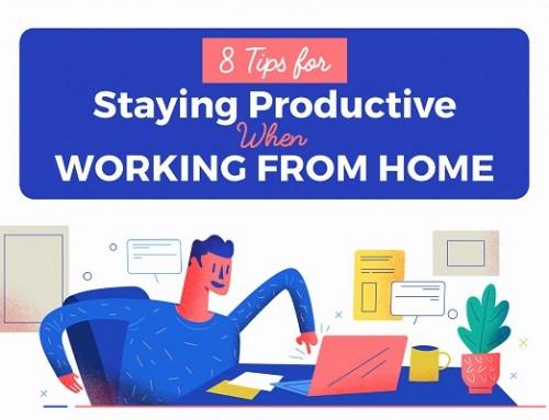 在家工作如何快乐高效