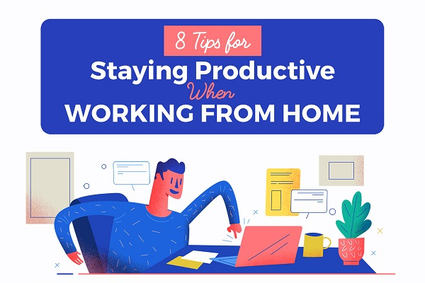 How to be happy and productive while working from home