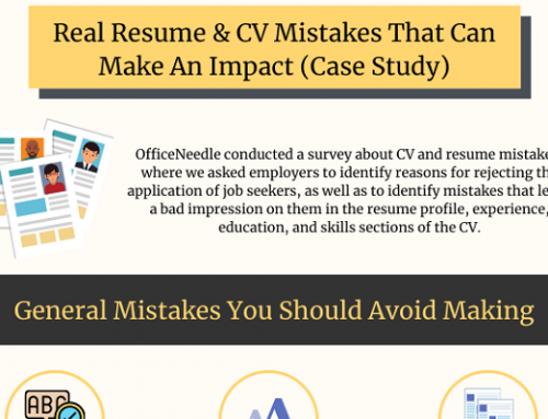 Resume And CV Mistakes That Can Make An Impact (Infographic)
