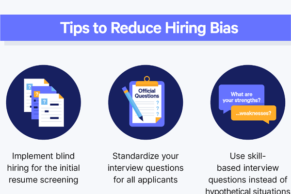 Tips to Reduce Hiring Bias